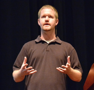Nathan speaking at GoGaRuCo 2014